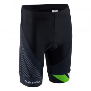 Silvini Team Bike Pants Kids - black/green