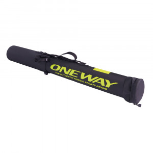 One Way Ski Pole Tube - black
