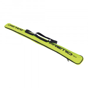 One Way Ski Pole Case Premio HD 160 cm - yellow