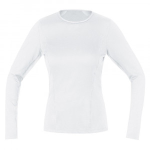 Gore Wear Base Layer Long Sleeve Shirt Women - white