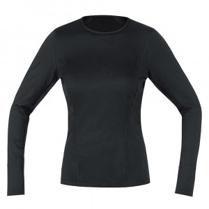 Gore Wear Base Layer Long Sleeve Shirt Women - black