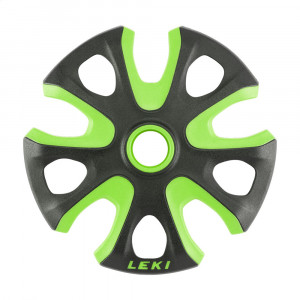 Leki Big Mountain Basket - neon green