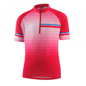 Löffler Bike Jersey HZ Evo Kids - flamenco