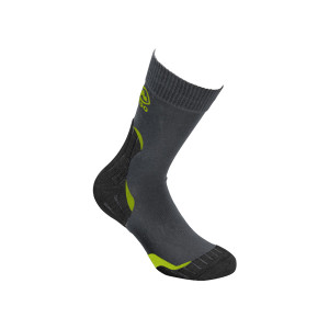High Colorado Trekkingsocks Light Kids black/anthracite/lime