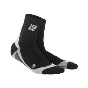 CEP Short Socks Women black/grey