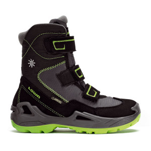 Lowa Milo GTX HI Kids - black/lime