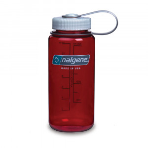 Nalgene Wide Mouth 0.5L - outdoor red