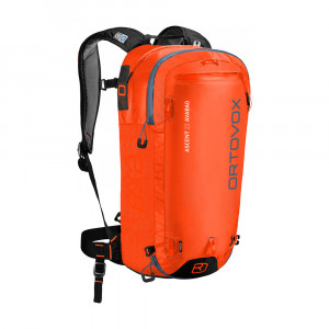 Ortovox Ascent 22 Avabag - crazy orange