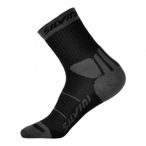 Silvini Vallonga Socks - black-charcoal