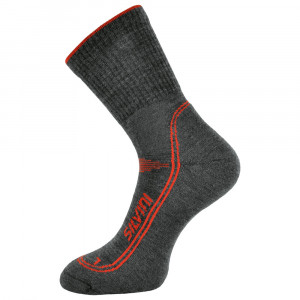 Silvini Lattari Merino Socks - charcoal-red