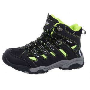 High colorado Kids Hikingshoe Planai Kid - black/lime