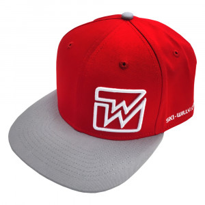 Ski Willy Cap - red