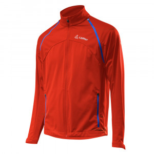 Löffler Zip-Off Jacket WS Softshell Light - redorange