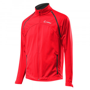Löffler Zip-Off Jacket WS Softshell Light - red