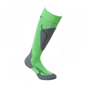 High Colorado Saalbach Socks Kids - green/anthracite/black/silver