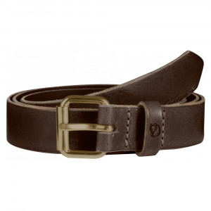 Fjällräven Singi Belt 2,5 cm - leather brown