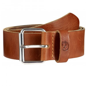 Fjällräven Singi Belt 4 cm - leather cognac