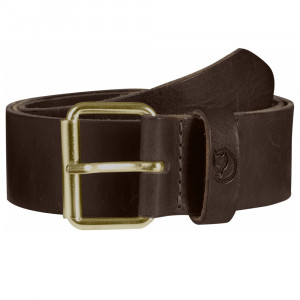 Fjällräven Singi Belt 4 cm - leather brown