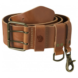 Fjällräven Equipment Belt - leather cognac