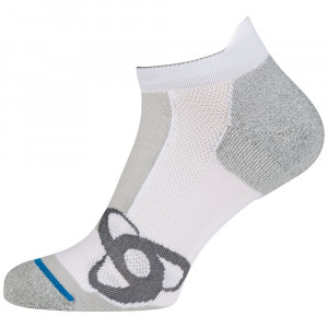 Odlo Short Running Low Cut Socks - white