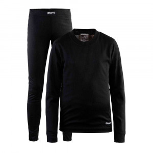 Craft Baselayer Set Junior - black
