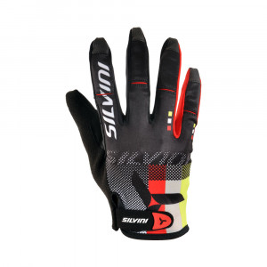 Silvini Team Fullfinger Gloves Women - black