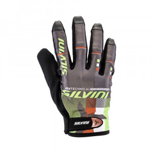 Silvini Team Fullfinger Gloves Women - green