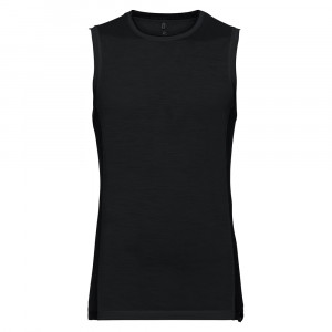Odlo SUW Tanktop Ceramiwool Light - black
