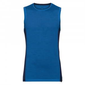 Odlo SUW Tanktop Ceramiwool Light - energy blue