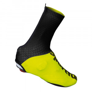 SPORTFUL LYCRA SHOECOVER - BLACK/YELLOW FLUO