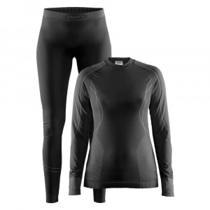 Craft Seamless Zone Baselayer 2 Pack Women - black