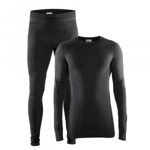 Craft Seamless Zone Baselayer 2 Pack - black