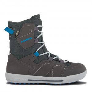 Lowa Raik GTX MID Kids - anthracite/blue