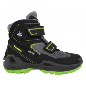Lowa Milo GTX MID Junior - black/lime