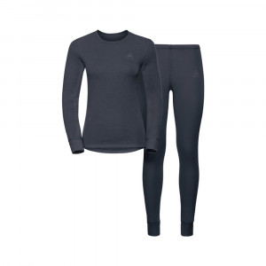 Odlo Long Warm Set Women - india ink