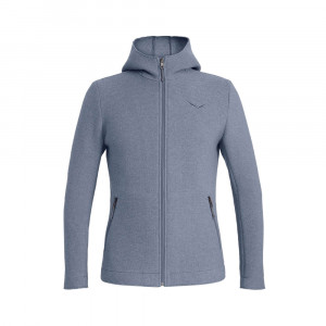 Salewa Sarner 2 Layer Wool Hoody - flint stone