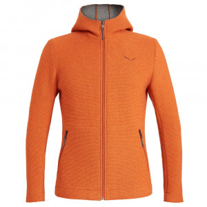 Salewa Sarner 2 Layer Wool Hoody - pumpkin