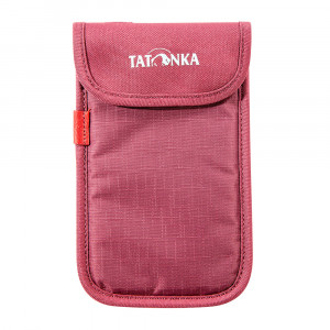 Tatonka Smartphone Case L - bordeaux red