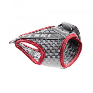 Leki Trigger Shark Frame Strap Mesh - grey/red