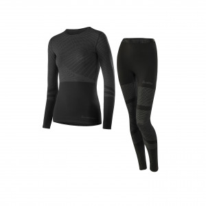 L�ffler Set Long Transtex� Warm Hybrid Women  - black