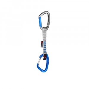 Mammut Crag Indicator Wire Express Set straight-wire 15 cm - silver/ultramarine
