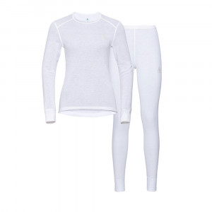 Odlo Active Warm Set Women - white