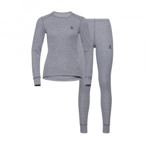 Odlo Active Warm Set Women - grey melange