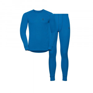 Odlo Active Warm Set - directoire blue