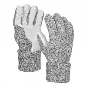 Ortovox Swisswool Classic Glove Leather - grey blend