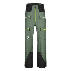 Ortovox 3L Guardian Shell Pants - green forest
