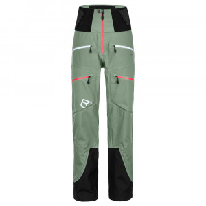 Ortovox 3L Guardian Shell Pants Women - green forest