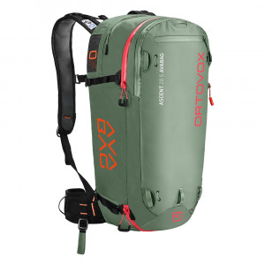 Ortovox Ascent 28 S Avabag Kit - green isar