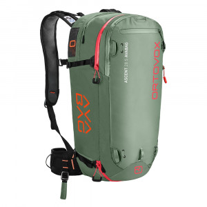 Ortovox Ascent 28 S Avabag - green isar