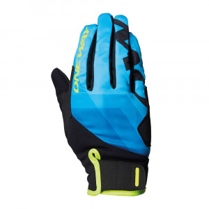 One Way XC Race Glove - blue